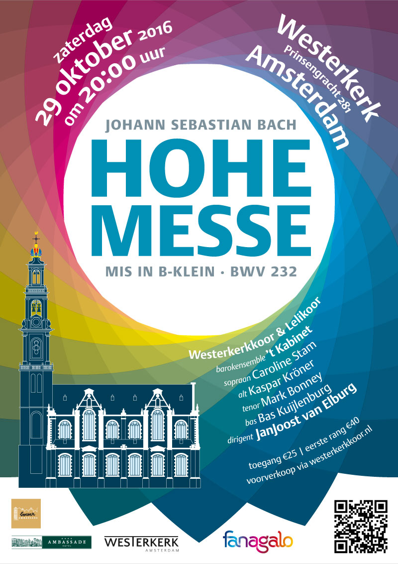 Hohe Messe 29 oktober 2016 Westerkerk
